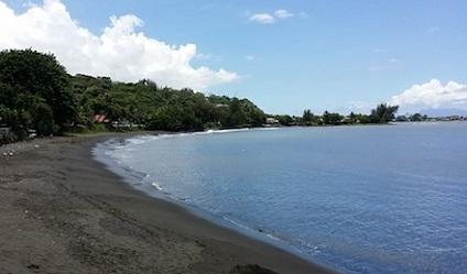 Plage Lafayette à Tahiti