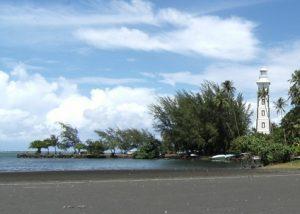 Plage de la Pointe Venus à Tahiti