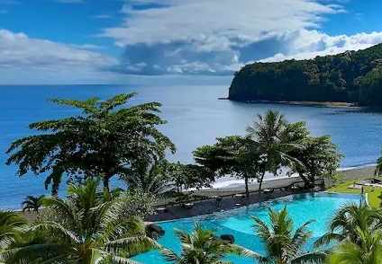 Plage du Tahiti Pearl Beach Resortà Tahiti