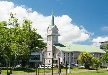 Temple protestant Siloama de Paofai à Papeete