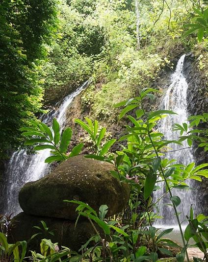 VAIHI les 2 Cascades à Tahiti