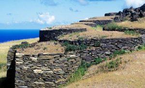 village cérémoniel d'Orongo Île de Pâques