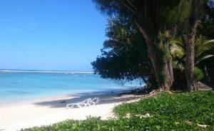 Aro'a Beach Rarotonga Îles Cook