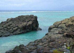 Black Rocks Beach Rarotonga Îles Cook