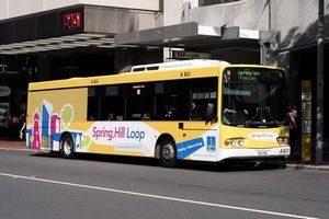 Bus Spring Hill Brisbane en Australie