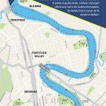 Carte croisière du matin River City Cruises à Brisbane en Australie