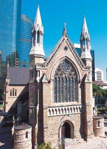Cathédrale Saint Stephen à Brisbane en Australie