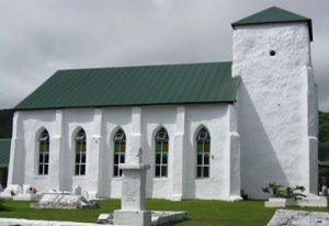 Eglise Ekalesia Avarua Rarotonga Îles Cook