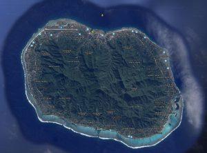 L'île de Rarotonga - Tumutevarovaro aux Îles Cook