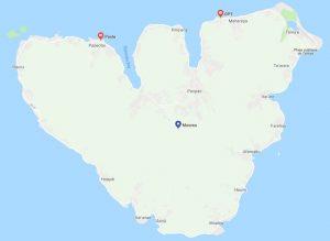 Les bureaux de poste de Moorea en Polynésie Française