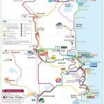 Carte Sunshine Coast Translink Brisbane en Australie
