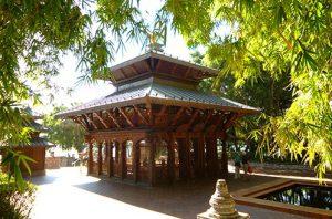 Pagode Népalaise à Brisbane en Australie