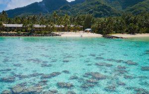 Réserve marine de Tikioki Rarotonga Îles Cook