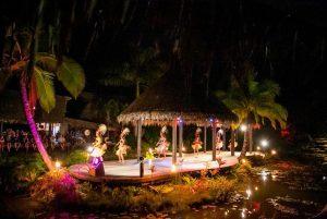 Le spectacle du soir Te Vara Nui Village Rarotonga Îles Cook 2