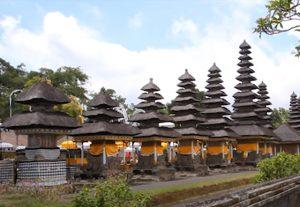 Croisière tour du monde Le temple Pura Taman Ayun à Bali