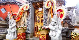 Croisière tour du monde le Palais de Ubud à Bali