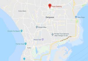 Croisière tour du monde marché de Pasar Badung de Denpasar à Bali