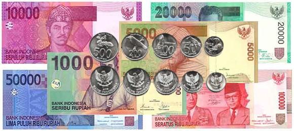 Devise la Roupie indonésienne le Rupiah