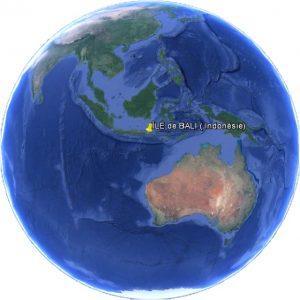 Croisière tour du monde passant à Bali en Indonésie
