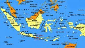 Situation de Bali en Indonésie