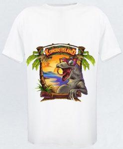 tee-shirt Komodo Island