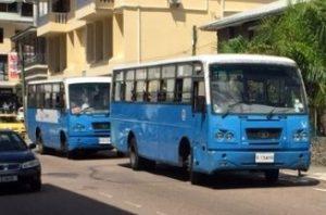 Croisière tour du monde Bus à Victoria Île de Mahé aux Seychelles