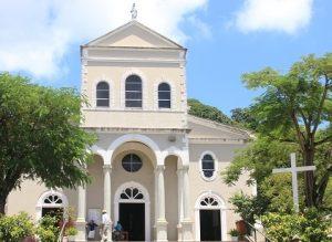 Croisière tour du monde Cathedral of our lady of the immaculate conception Victoria Mahé aux Seychelles