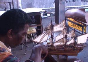 Croisière tour du monde Fabrique de maquette de bateau Île Maurice