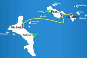 Croisière tour du monde Les ferrys à Victoria Île de Mahé aux Seychelles