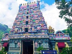 Croisière tour du monde Temple Arul Mihu Navasakthi Vinayagar Victoria Mahé aux Seychelles