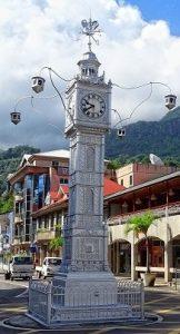 Croisière tour du monde Victoria Clocktower La tour de l horloge Victoria Mahé aux Seychelles
