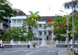 Croisière tour du monde Government House Port Louis île Maurice