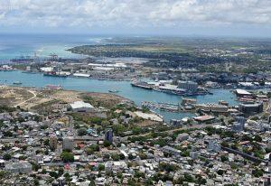 Croisière tour du monde Port Louis View Point Mt des Signaux Port Louis île Maurice
