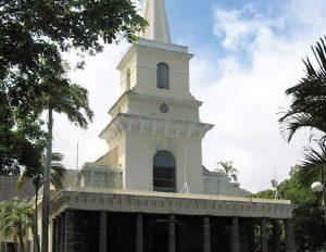 Croisière tour du monde St James Cathedral Port Louis île Maurice