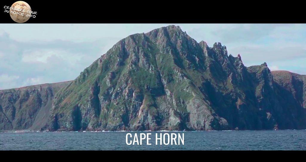 Escale 10 Croisière tour du monde passage du Cap Horn