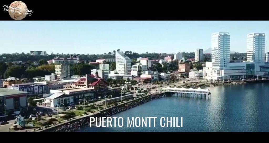 Escale 15 Croisière tour du monde à Puerto Montt au Chili
