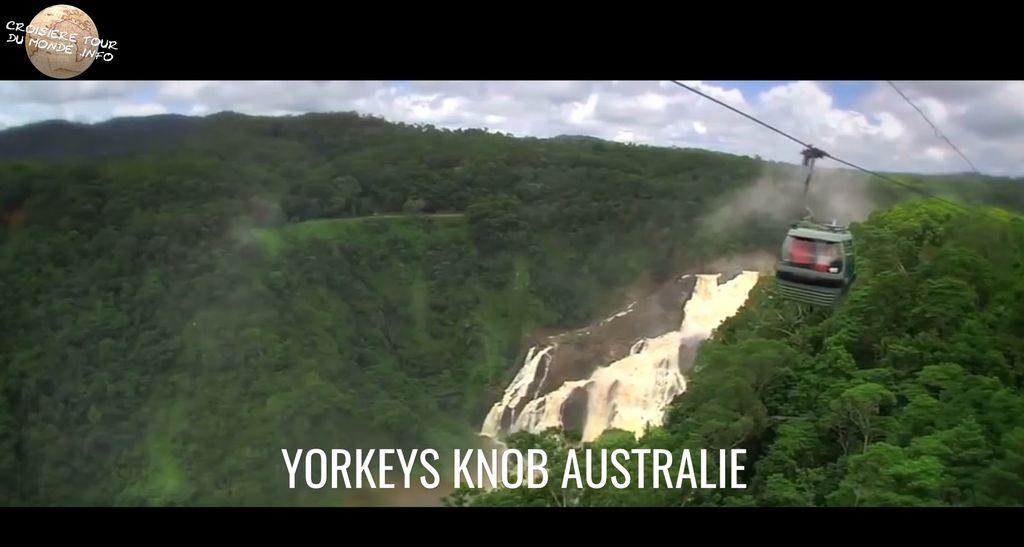 Escale 25 Croisière tour du monde à Yorkeys Knob en Australie