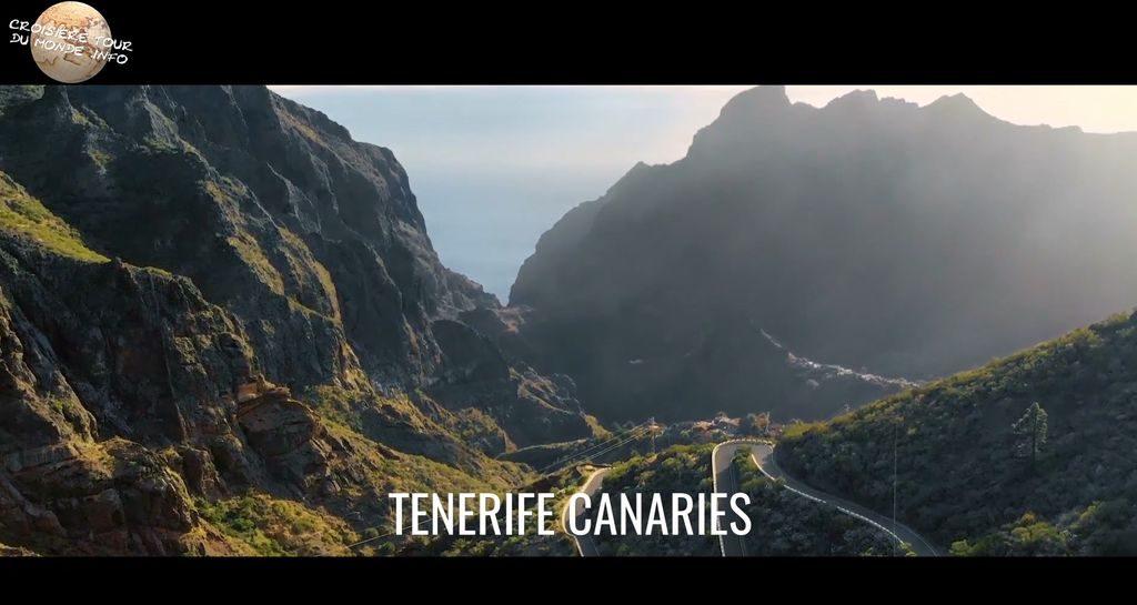 Escale 4 Croisière tour du monde à Tenerife aux Canaries