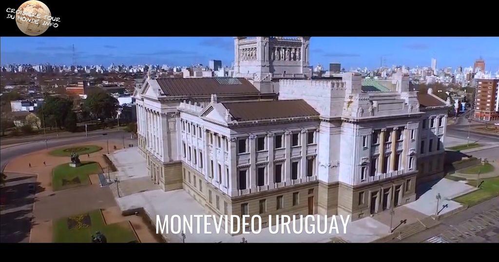 Escale 8 Croisière tour du monde à Montevideo en Uruguay