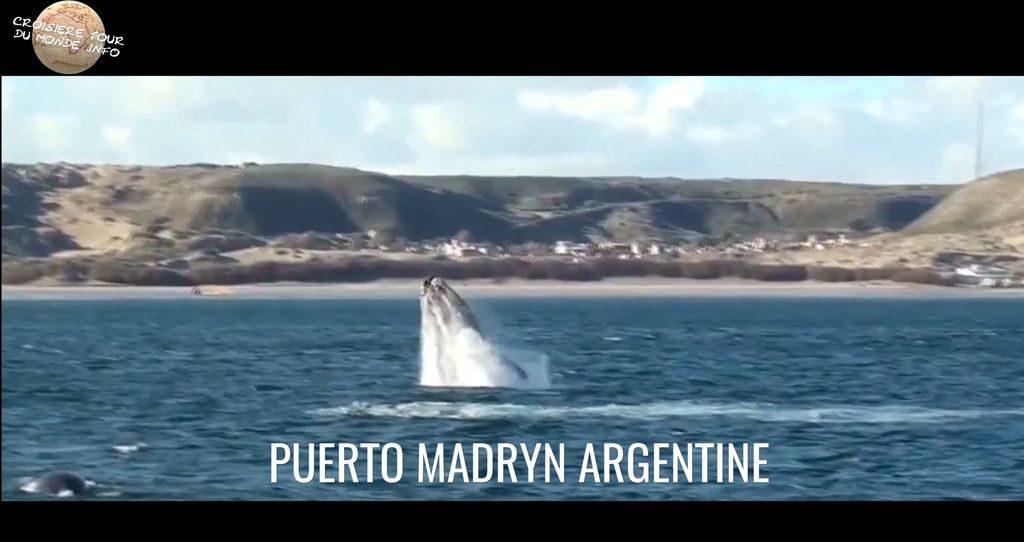Escale 9 Croisière tour du monde à Puerto Madryn en Argentine
