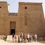 Assouan le barrage et Temple de Philae