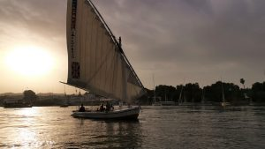 Escale à Assouan balade en Felouque sur le Nil
