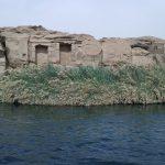 Escale Souk Assouan - navigation et tempête de sable